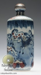 Horse Snuff Bottle