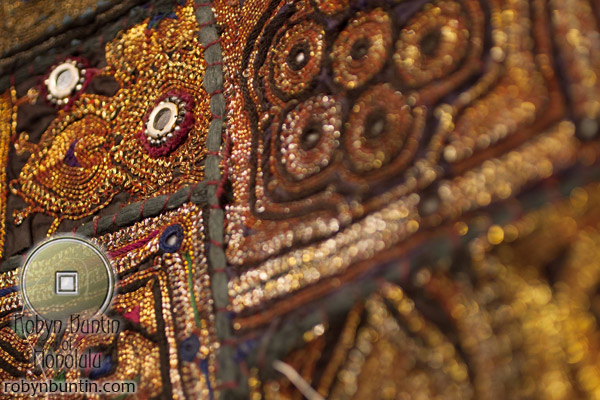 Mughal Costume Fabric Panel(Indian Textile)