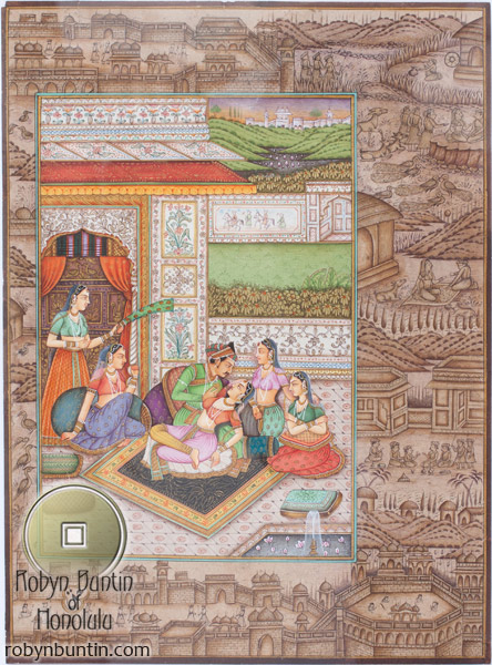 Indian Painting(Indian Painting/Drawing)