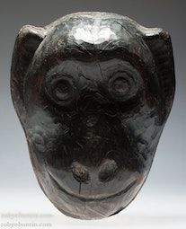 Wooden Monkey Mask
