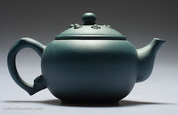 Small Blue Yixing Teapot
