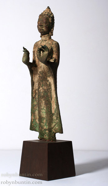 Ayuthia Standing Buddha(Southeast Asian Sculpture)