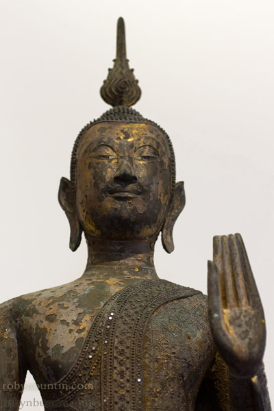 Standing Thai Buddha with stand(Southeast Asian Sculpture)