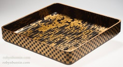Japanese Lacquer Serving Tray