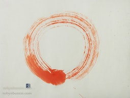 Red Enso by John Stevens