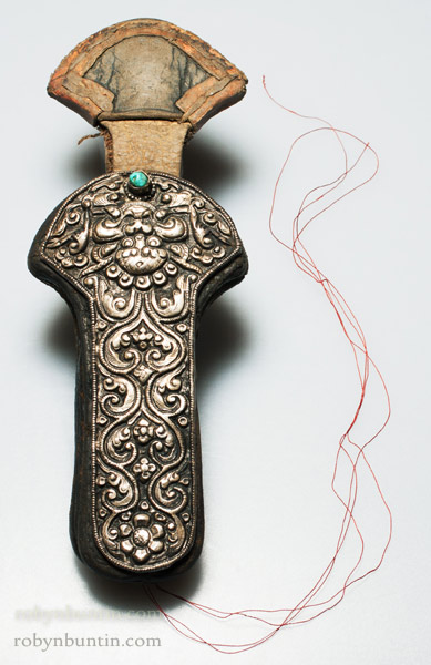 Tibetan Needle Case(Tibetan & Himalayan Functional Object)