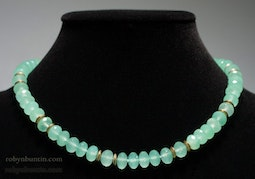Chalcedony Necklace by Tomi