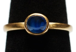 Sapphire Stacking Ring by Tomi