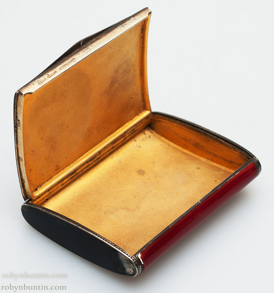Dunhill Enamel Cosmetic Box(European Functional Object)