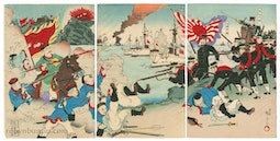Sino-Japanese War by Kuniomi
