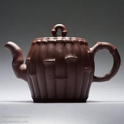 Small Yixing Bamboo Teapot