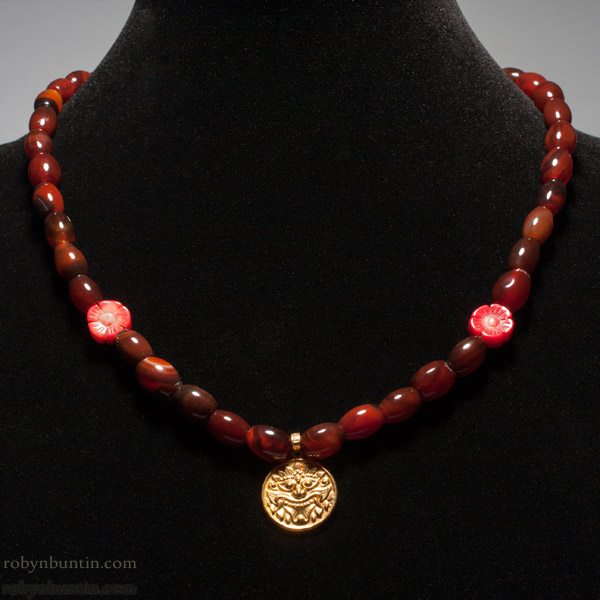 Carnelian Necklace(Chinese Jewelry)