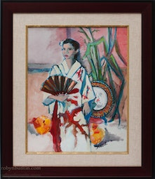 Japanese Girl by Anne Irons