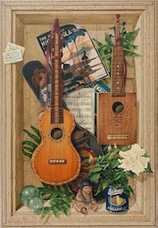 Two Ukuleles by Georg James & John Dinsmore