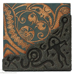 Petroglyph & Tattoo Panel VI by Georg James & John Dinsmore