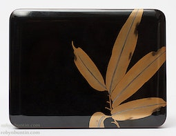 Bamboo Leaf Lacquer Box