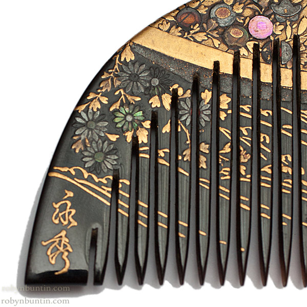 Lacquer Comb(Japanese Jewelry)