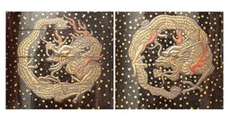 Lacquer Dragon Inro with Ojime