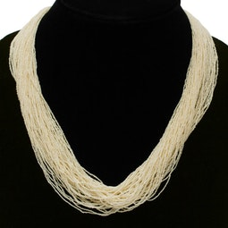 Multi-strand Seed Pearl Necklace