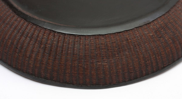 Lacquer & Woven Tea Dish(Japanese Lacquer)
