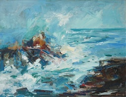 Abstracted Seascape by John Young