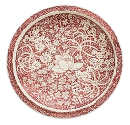Hawaiian Flowers 10.5 Inch Plate by Don Blanding