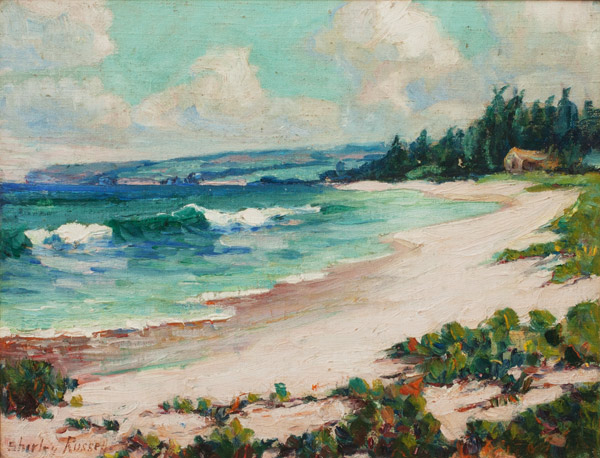 Hawaiian Shores by Shirley Russell(Hawaiian Painting/Drawing)