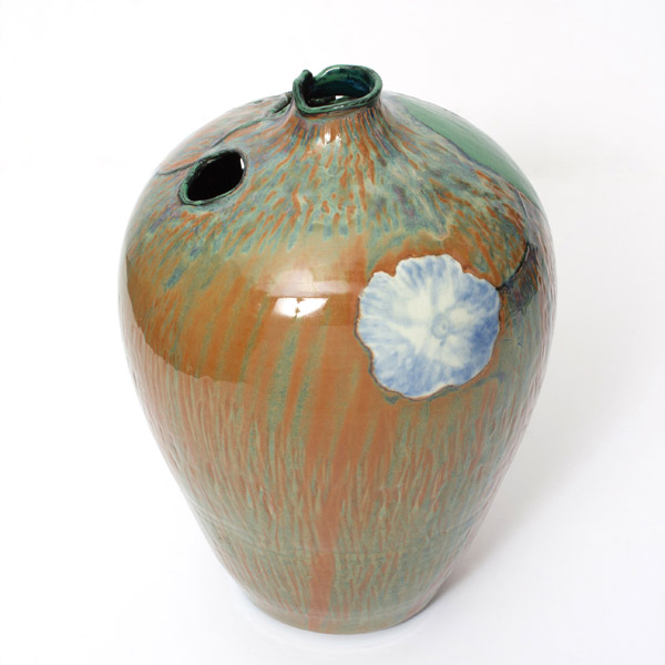 Anthurium Vase by Andy Kay(Hawaiian Functional Object)