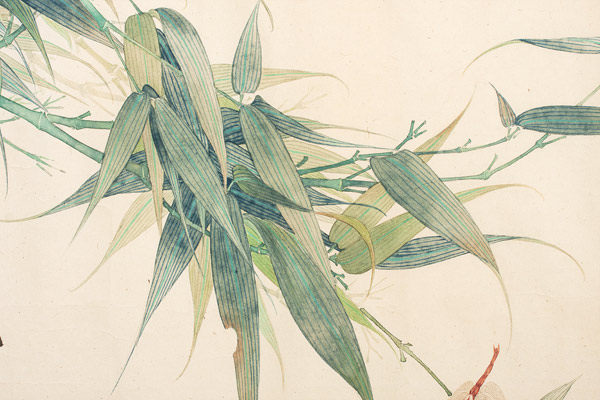 Dragonfly & Bamboo by Wong(Chinese Painting/Drawing)