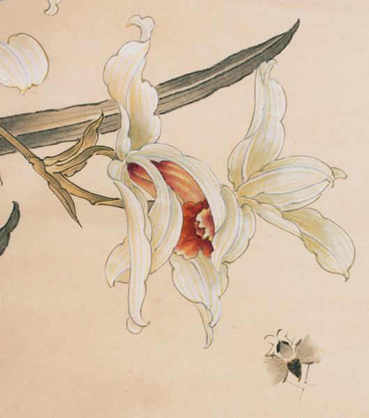 Bees & Flowers(Chinese Painting/Drawing)