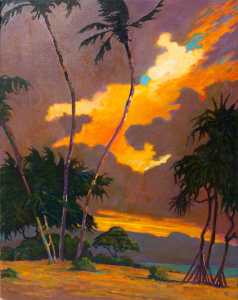 Kauai by Dennis Morton(Hawaiian Painting/Drawing)