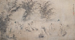 Seven Sages in Bamboo Grove by Wu Jin 伍進