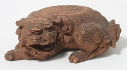 Small Carved Shishi