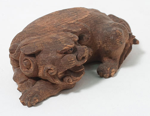 Small Carved Shishi(Japanese Sculpture)