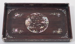 Vietnamese Mother-of-Pearl Inlaid Tray