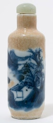 Crackle Glazed Snuff Bottle