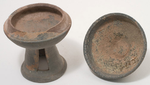 Korean Footed Bowl with Cover(Korean Functional Object)