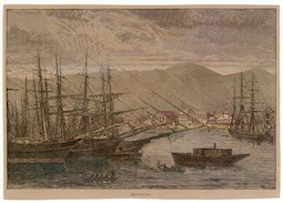 19th Century Honolulu Harbor
