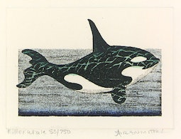 Killer Whale (53/750) by Dan Mitra
