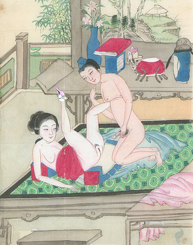 asian art Antique erotica