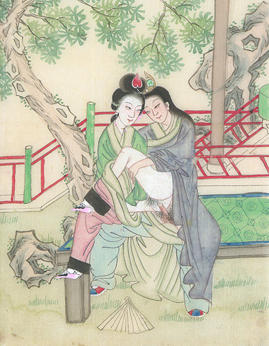 Agree, the Chinese erotic art