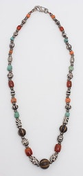 Coral & Turquoise Necklace