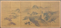 6-Panel Landscape Screen