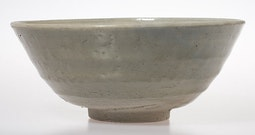 Celadon Bowl with Floral Interior
