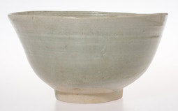 Celadon Bowl with Petal Design Interior