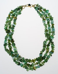 3-Strand Tourmaline Necklace by Tomi