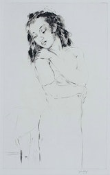 Young Woman by John Kelly