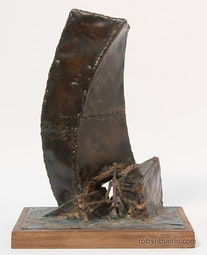 Small Abstract Sculpture by Bumpei Akaji
