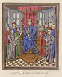 Manuscript Illumination: Duke of Brittany