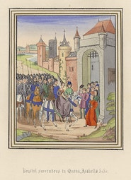 Manuscript Illumination: Bristol Surrenders